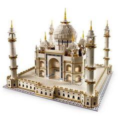 LEGO® - Taj Mahal -- I think I have this pinned somewhere already. but still sooo cool. Much better then my Puzzle Taj Mahal Lego Creator, Taj Mahal India, Lego Kits, Lego Sculptures, Lego Boards, Amazing Lego Creations, Lego Builder, Buy Lego, Just Amazing