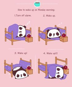 How to wake up on Monday Morning