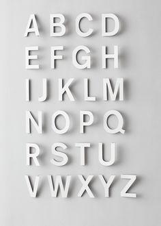 ABC - Fideli Sundqvist  Plus de découvertes sur Déco Tendency.com #deco #design #blogdeco #blogueur