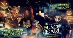 Celebrate Halloween weekend in spirited style with the 6th Annual Black Pearl costume party. Set sail aboard the 350+ Catalina King Yacht for a thrilling 3hr cruise out of Long Beach.