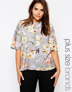 Enlarge Truly You Floral Print Blouse