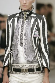 Not crazy about the jacket stripes but love everything else