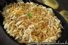 O arroz com aletria ou arroz árabe é um prato leve, com ingredientes fáceis de encontrar e simples de preparar, apesar de sua simplicidade, é uma receita...