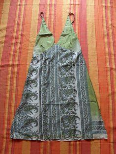 1 Seidenkleid aus Indien Kleid aus Seide Kleidung Nr.12