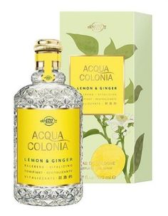 4711 Acqua Colonia Lemon & Ginger Maurer & Wirtz perfume - a fragrance for women and men 2009 Cologne Spray, Cosmetics & Perfume, Aqua, Parfum Spray, Summer Scent, Body Lotion, Bath And Body Works, Vodka Bottle, Perfume Bottles