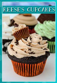 Dark Chocolate Raspberry Curd Filled Cupcakes - JavaCupcake