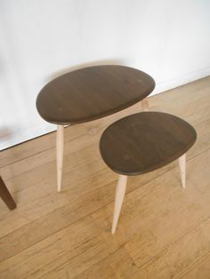 354WN Medium and Small Table from Pebble Nest 01844 271800
