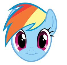 Rainbow Dash Cute Face Vector by Esipode My Little Pony Party, Cumple My Little Pony, Little Pony Cake, Rainbow Dash, Equestrian Girls, Face Painting Designs, My Little Pony Friendship, Cartoon Wallpaper, Cute Faces