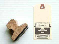 desk rubber stamps at present & correct