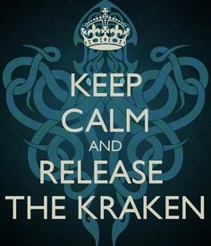 Kraken ~ Clash of the Titans...Also name of my toothy little beagle