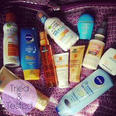 CherrySue, Doin' the Do #SPF #Sunshine #Summer #Skincare  #SunProtectionFactor #AmbreSolaire #Nivea #