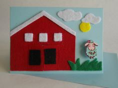 Kinderkaart  'Hide and seek the sheep' door FromHelloToGoodbye