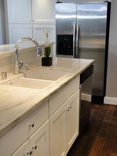 How to Care for Solid-Surface Countertops- Preserve the look of your granite, marble or tile countertop with these maintenance tips.
