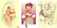 desenhos de roupas em manga - Pesquisa Google