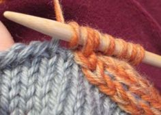 Attached I-Cord Knitting Charts, Knitting Stitches, Knitting Patterns, Knitting Ideas, I Cord, Knitting Projects, Mittens, Crochet, Pretty
