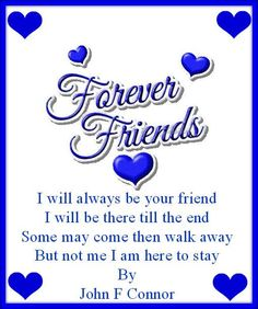 Forever Friends From Beautiful Gorgeous Anneke x