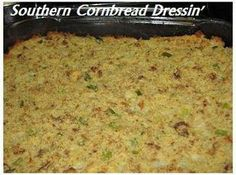 Southern Cornbread Dressing I love dressin, and I love my families dressing best. We have it both on Thanksgiving and Christmas. Best Thanksgiving Recipes, Holiday Recipes, Holiday Meals, Thanksgiving Menu, Thanksgiving Activities, Christmas Desserts, Sauce Pizza, Stuffing Recipes, Cornbread Stuffing