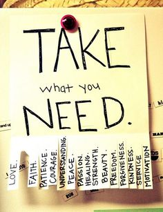 """What do you NEED ? ! ? !"""