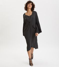 This Odd Molly 'Superiour' Asphalt Grey Long Lightweight Jacket is the definition of adorable! SHOP NOW! Odd Molly, Lightweight Jacket, Up Styles, Shop Now, Cardigans, Arms, Cold Shoulder Dress, Elegant, Fit