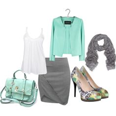 Business Trip, created by beachpeace on Polyvore