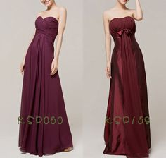 Long burgundy prom dresses uk