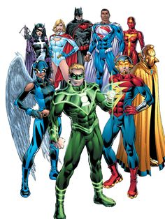 Earth 2 Justice Society/Wonders of the World