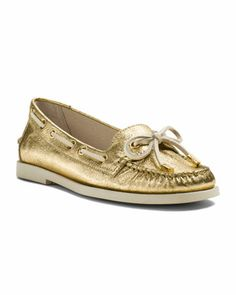 MICHAEL Michael Kors  Blair Metallic Moccasin.