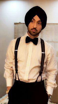 diljit dosanjh ✨ Indian Man, Turban, Head Wraps, Dapper, Desi, Gentleman, Roman, Bae, Dress Up