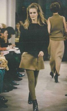 Karen Mulder - Prada Fall/Winter 1991
