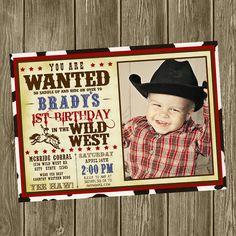 Cowboy Birthday Banner