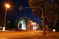Leipzig by night....