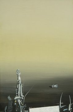 Yves Tanguy - 1950 - Composition