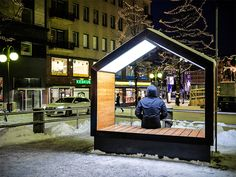 mokša street furniture installed in lahti, finland is part of Urban furniture Street - mokša street furniture, by finnish designers simo lahtinen, suvi saastamoinen and mikko rikala from sito Ltd, wins the vibrant port road 2016 competition Parks Furniture, Urban Furniture, City Furniture, Street Furniture, Bench Furniture, Cheap Furniture, Contemporary Furniture, Furniture Design, Concrete Furniture