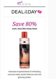 Today only. Online only. $1.99 reg $10. Great stocking stuffer! Www.youravon.com/simonej