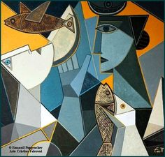"""Excellent """"abstract artists matisse"""" information is offered on our internet site. Take a look and you wont be sorry you did. Cubist Artists, Cubism Art, Abstract Face Art, Abstract Geometric Art, Formalism Art, Art Moderne, Figurative Art, Modern Art, Art Drawings"""