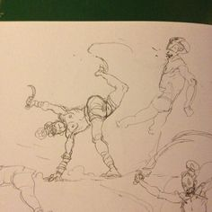 #action #sketch #fight yeeha!