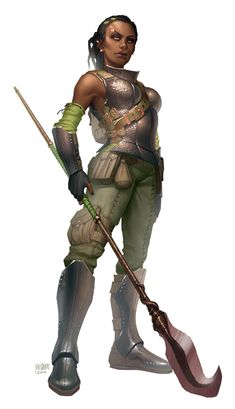 RPG Female Character Portraits — Do you have any black female characters wielding. Fantasy Heroes, Fantasy Rpg, Medieval Fantasy, Fantasy Artwork, Warhammer Fantasy, Black Characters, Fantasy Characters, Female Characters, Fantasy Figures