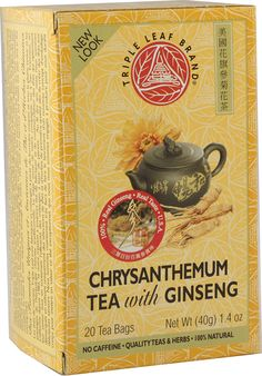 Good Facts of Ginseng Chrysanthemum Chinese Tea You Need to Know Chrysanthemum Tea Benefits, Chrysanthemum Chinese, Everlasting Gobstopper, Ginseng Tea, Chinese Tea, Fun Drinks, Fun Facts, Herbs, Make It Yourself