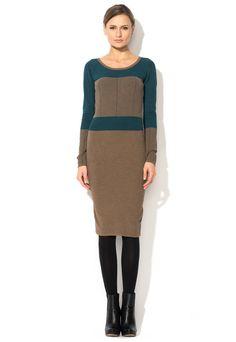 Fashion Days - ИЗБРАНИ ПРОДУКТИ ЗА ВАС - Brown&Blue Dress