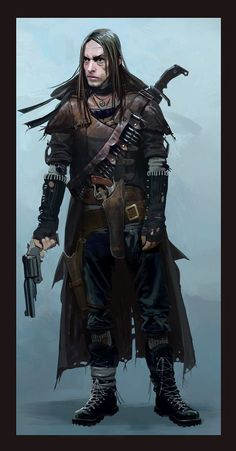 Gunslinger - believing that the Wild West is alive and well in 2084.