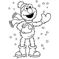 elmo coloring pages baby elmo - photo#45