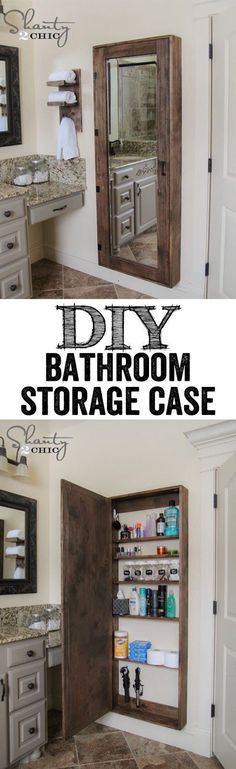 DIY Storage Case, great for anyone room.