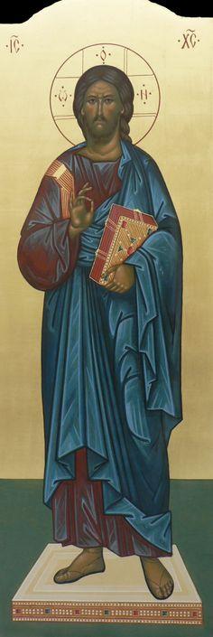 храмовая икона Спас Вседержитель