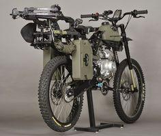 Survival Bike : la moto ultime qui vous fera survivre à l'apocalypse zombie !