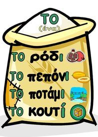 Picture Greek Language, Speech And Language, Letter Activities, Educational Activities, Primary School, Elementary Schools, Greek Writing, Grammar Posters, Learn Greek