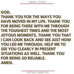 Here's a great batch of 30 thankful prayers for you. We are given so much, often times we focus on what we don't have or what we want, instead of being thankful for all that we have. These 30 short prayers will help you foster a thankful heart. Thankful Prayers, Prayers Of Gratitude, Short Prayers, Thankful Quotes, Thankful Heart, Gratitude Quotes, Prayer Quotes, Bible Verses Quotes, Faith Quotes