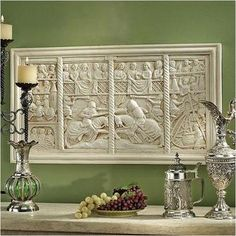 The Medieval Joust Sculptural Wall Frieze $89.95