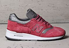 """Concepts x New Balance 997 """"Rosé"""" (Made in USA)"""