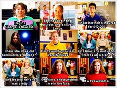 mean girls quote hahaha love the last two!!!! One time she punched me in face, it was AWESOME!!!!