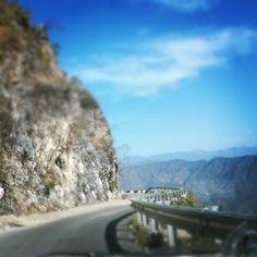Highway to heaven? #highway #road #roadtrip #morning #masoori #india #incedible_india #journey #postcard #blue #sky #uttarakhand #landscape #natgeotravel #discover #explore #GrabYourDream #Adventure #Travel #Contest